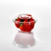 T12675 & T12675-1 Dessert Cup & Lid Strawberries