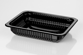 #3 Black Tray