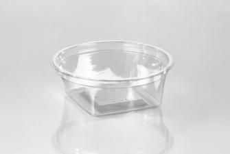 T21040 Square/Round 8oz Container