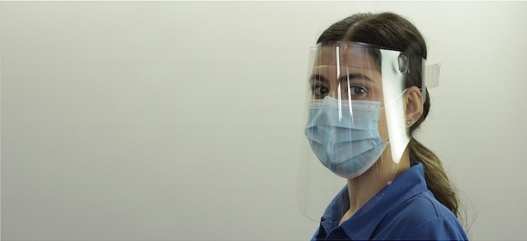 T28592 Face Shield with Mask