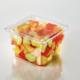 T25554 51 oz. 6 Square Bowl Fruit 2